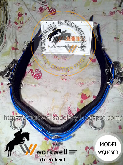 Blue, Synthetic Headpole Strap, QH Synthetic Training Saddle Pro, Country Pride quick hitch harness, Feather Weight quick hitch harness, Protecto quick hitch harness, Walsh quick hitch harness, Wellington Tack quick hitch harness, Finn Tack quick hitch harness, Zilco quick hitch harness, Extreme quick hitch harness, top mark quick hitch harness, walsh quick hitch harness, ELITE quick hitch harness, Finntack quick hitch harness, harness supplier, wholesale horse supplies, wholesale equine supplies, Lightweight, easy cleanup, LITE-N-TUFF, waterproof, PVC Coating, PVC Webbing, Beta webbing, Biothane webbing, beta material, PCN or Beta material, PVC Coated, TPU Coated, polyester Coated, International Lite-N-Tuff 1600 Harness - Complet, Lite-N-Tuff 1600 Harness Complete - US Style - 1600LNT, Lite-N-Tuff 1600 Harness Kit - US Style - 1600-KIT, PRO II 1800 Harness - Complete - US Style - 1800H, PRO II 1800 Harness - Kit - US Style - 1800-KIT, Leather Harness 500 Complete - US Style - 500H, Leather Harness 500 Kit - US Style - 500-KIT, Walsh Nylon Double Ring Race Caveson, Walsh 1800 All-Synthetic Harness, Walsh 1500 Harness, Walsh Pony Race Harness, Zinger Ultra Harness, Rich Tack Rag On The Pad Kit, Xtreme Advantage Harness, Walsh 1600 Race Harness Complete - TB, Feather-Weight 1800 Synthetic Standard Race Harness, Feather-Weight 1600 Lite N Tuff Nylon Race Harness, Finn Tack Quick Hitch Harness Pro, Walsh 500 Leather Harness, Walsh Kant C Back Blinds For Race Bridle, Walsh Blinds for Race Bridle, Striper Waterproof Saddle Pad 40inch Walsh, Saddle, Harness back saddle, Head check, Qh racing saddle, Head pole straps, Forged stainless steel coupler