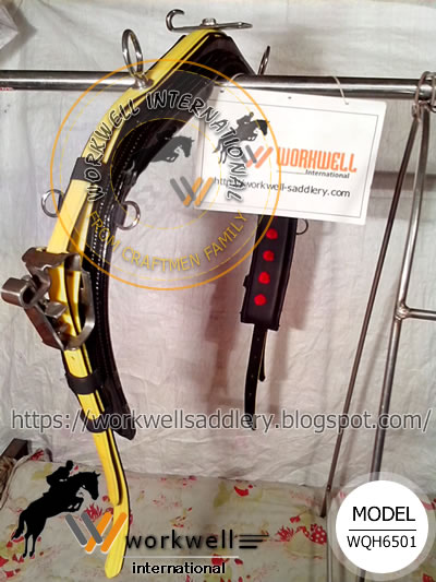 Yellow, Synthetic Headpole Strap, QH Synthetic Training Saddle Pro, Country Pride quick hitch harness, Feather Weight quick hitch harness, Protecto quick hitch harness, Walsh quick hitch harness, Wellington Tack quick hitch harness, Finn Tack quick hitch harness, Zilco quick hitch harness, Extreme quick hitch harness, top mark quick hitch harness, walsh quick hitch harness, ELITE quick hitch harness, Finntack quick hitch harness, harness supplier, wholesale horse supplies, wholesale equine supplies, Lightweight, easy cleanup, LITE-N-TUFF, waterproof, PVC Coating, PVC Webbing, Beta webbing, Biothane webbing, beta material, PCN or Beta material, PVC Coated, TPU Coated, polyester Coated, International Lite-N-Tuff 1600 Harness - Complet, Lite-N-Tuff 1600 Harness Complete - US Style - 1600LNT, Lite-N-Tuff 1600 Harness Kit - US Style - 1600-KIT, PRO II 1800 Harness - Complete - US Style - 1800H, PRO II 1800 Harness - Kit - US Style - 1800-KIT, Leather Harness 500 Complete - US Style - 500H, Leather Harness 500 Kit - US Style - 500-KIT, Walsh Nylon Double Ring Race Caveson, Walsh 1800 All-Synthetic Harness, Walsh 1500 Harness, Walsh Pony Race Harness, Zinger Ultra Harness, Rich Tack Rag On The Pad Kit, Xtreme Advantage Harness, Walsh 1600 Race Harness Complete - TB, Feather-Weight 1800 Synthetic Standard Race Harness, Feather-Weight 1600 Lite N Tuff Nylon Race Harness, Finn Tack Quick Hitch Harness Pro, Walsh 500 Leather Harness, Walsh Kant C Back Blinds For Race Bridle, Walsh Blinds for Race Bridle, Striper Waterproof Saddle Pad 40inch Walsh, Saddle, Harness back saddle, Head check, Qh racing saddle, Head pole straps, Forged stainless steel coupler